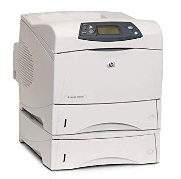 Refurbished – HP LaserJet 4350dtn printer with 3 trays