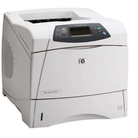 Refurbished - HP LaserJet printer model 4300n with 2 trays