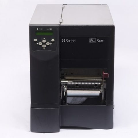 Used Zebra S4M Direct Thermal Printer