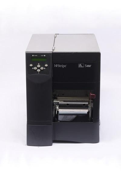 Used Zebra S4M Direct Thermal Printer