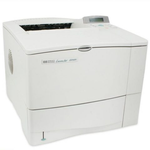Refurbished HP one sided LaserJet printer model 4050n