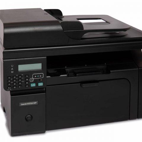 black hp laser jet printer for sale online with keypad