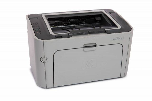 refurbished grey hp laser jet p1505 printer for sale online