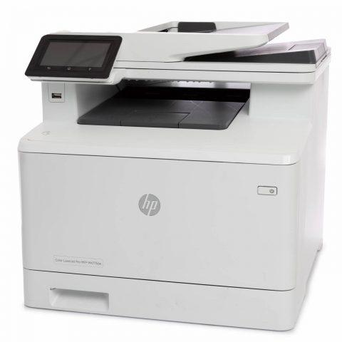 refurbished hp color laser jet pro printer for sale online