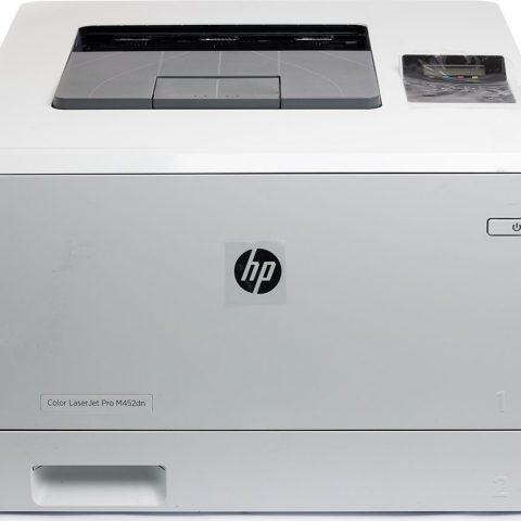 refurbished white hp color laser jet pro m452dn for sale online
