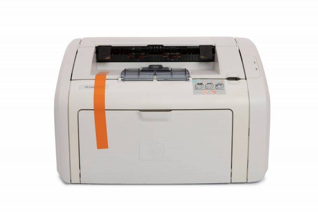 refurbished white hp laser printer for sale online
