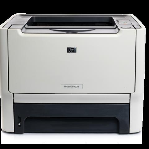 white HP P2015 Laser Printer for sale