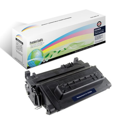 black toner printer cartridge