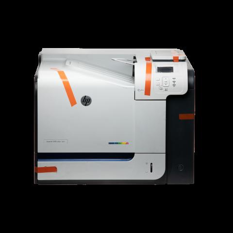New HP M551dn Color Laser Printer
